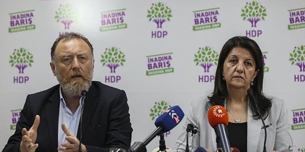 HDP Eş Başkanları Sezai Temelli ve Pervin Buldan hakkında soruşturma başlatıldı!