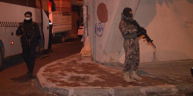 HDP Esenyurt İlçe Başkanlığı'na terör baskını