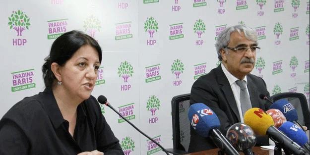 HDP güya saldırıyı kınadı! Terör örgütüne tek kelime yok