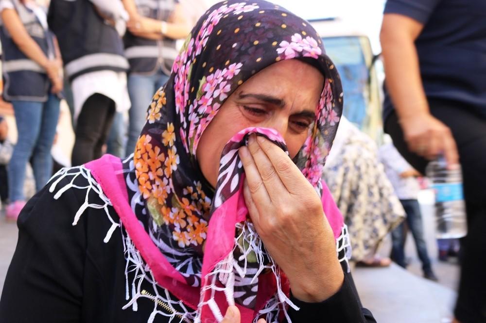 HDP önünde eylem yapan aile sayısı 10'a yükseldi