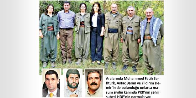 HDP siyasi değil silahlı şube