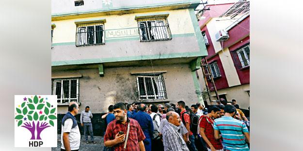 HDP'den hain provokasyon