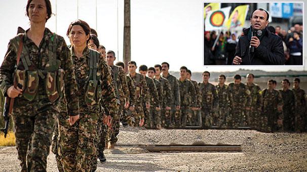 HDP'li vekil terör örgütü PKK'nın bomba eğitim kampında ortaya çıktı