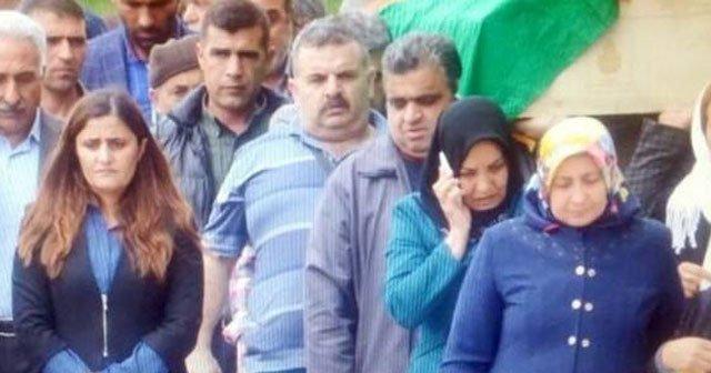 HDP'li vekil yine PKK'lı cenazesinde!