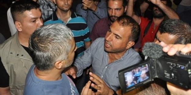 HDP'liler ile polis arasında gerginlik