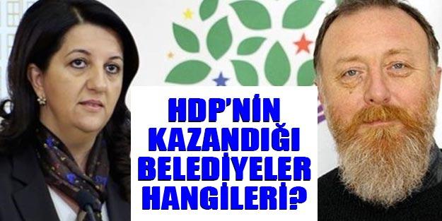 HDP'nin kazandığı belediyeler 31 Mart 2019 HDP sonuçları