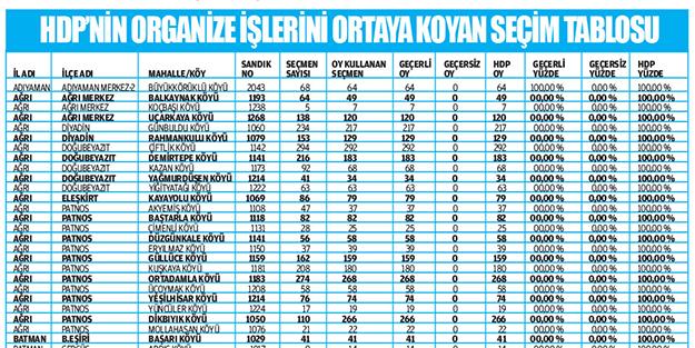 HDP'nin 'oy hırsızlığı'nın belgeleri...