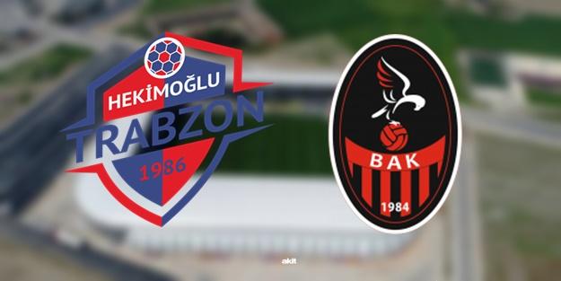 Hekimoğlu Trabzon Başkent Akademi maçı ne zaman, saat kaçta, hangi kanalda?