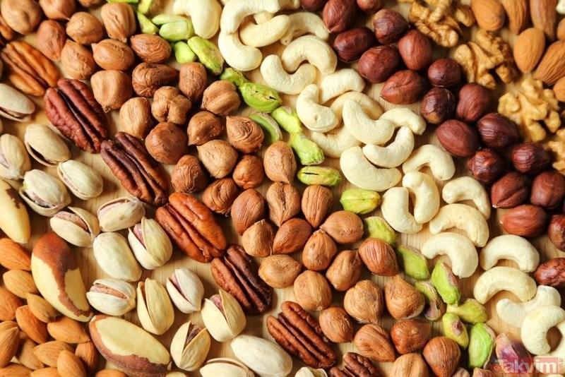 Dry Nuts Hd Free Image: Her Gün Bir Avuç Mutlaka Yeyin