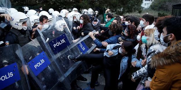 Her şey Gezi'deki gibi gelişiyor! Yurt dışından Boğaziçi provokatörlerine destek