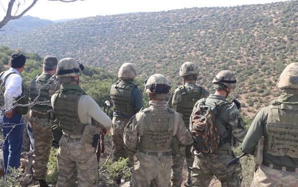 Herekol Dağı'nda terörle mücadele