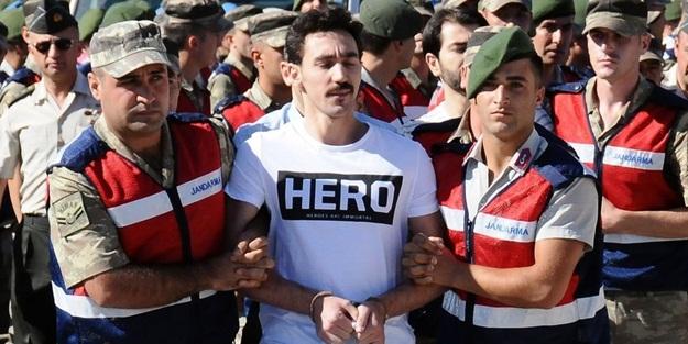 HERO TİŞÖRTÜ GİYEN HAİNİN AVUKATI TUTUKLANDI