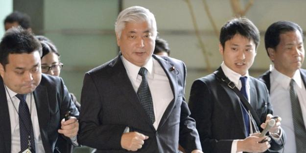 Hidrojen bombasını duyan Japon Bakan paniğe kapıldı