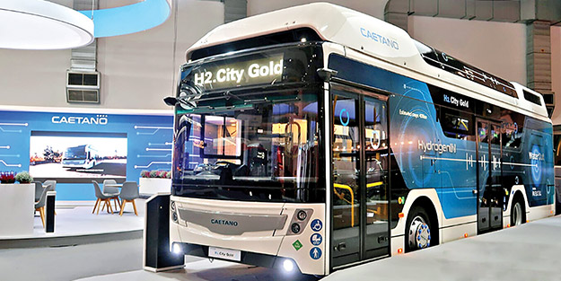 Hidrojen yakıtlı otobüs 2020'de yollarda