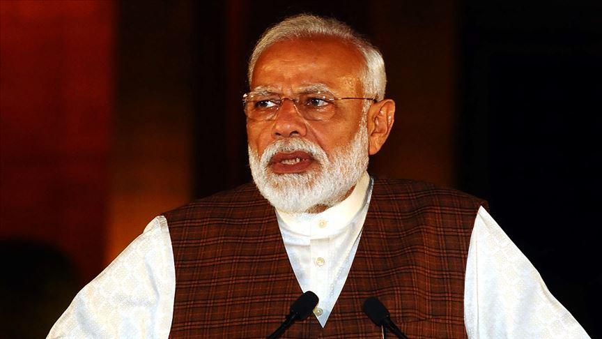 Hindistan Başbakanı Narendra Modi'den terörle mücadelede birlik çağrısı