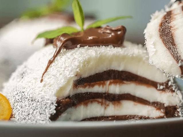 Hindistan cevizli zebra tatlısı nasıl yapılır?