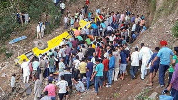 Hindistan'da çok feci kaza! En az 27 öğrenci öldü