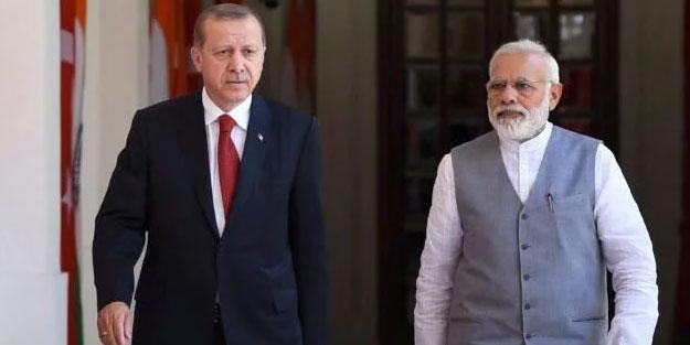 Hindistan'dan küstah Türkiye açıklaması