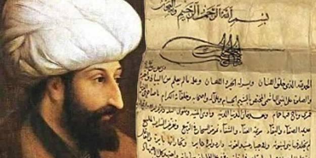 Hırsız İngilizler Fatih Sultan Mehmet tuğralı vakfiyenin satışı sundu! Türkiye devreye girdi