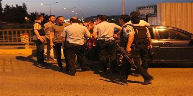 Hırsızlık ihbarına giden polise alçak saldırı