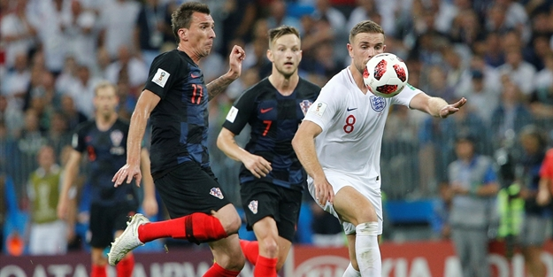 Hırvatistan geriden geldi, İngiltere'yi ezdi geçti!