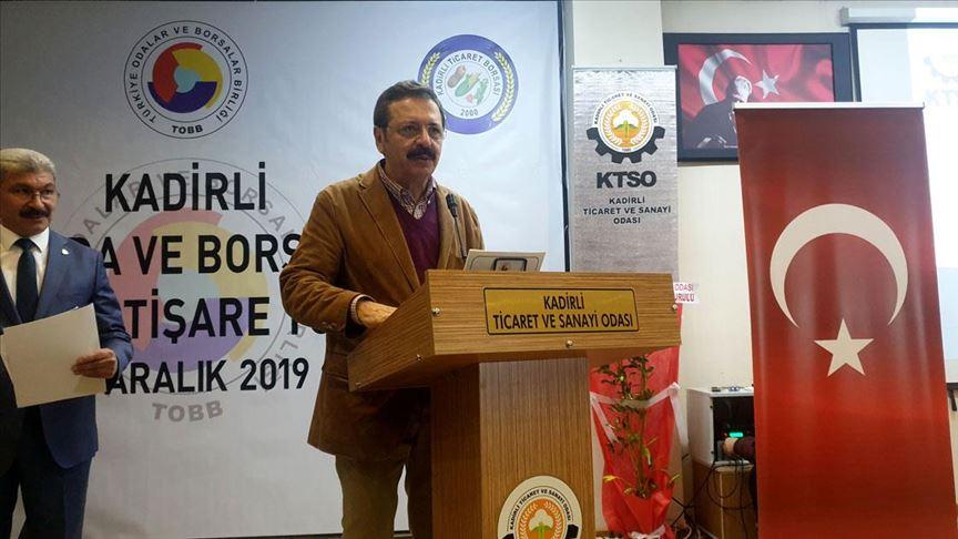 Hisarcıklıoğlu: İş Yapma Kolaylığı Endeksi'nde Türkiye 33. sıraya yükselmeyi başardı
