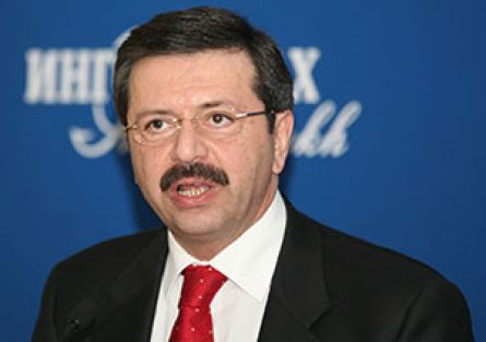 Hisarcıklıoğlu'na Akdeniz Liderlik Ödülü