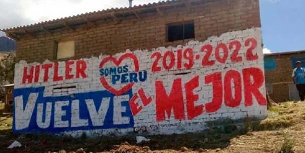 HİTLER VE LENİN PERU'DAKİ SEÇİMLERDE YARIŞACAK!