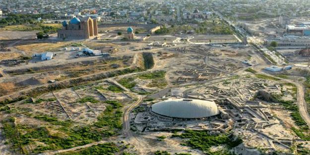 Hoca Ahmet Yesevi'nin kurduğu akıma ait! Ülkede 600 yıllık sufi tekkesi bulundu