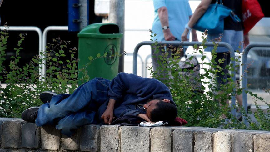 Hollanda'da evsizlerin sayısı 10 yılda iki katna çıktı