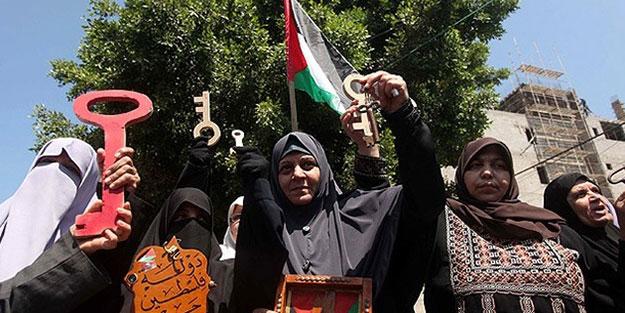 Hollanda'da 'Özgür Filistin' sesleri
