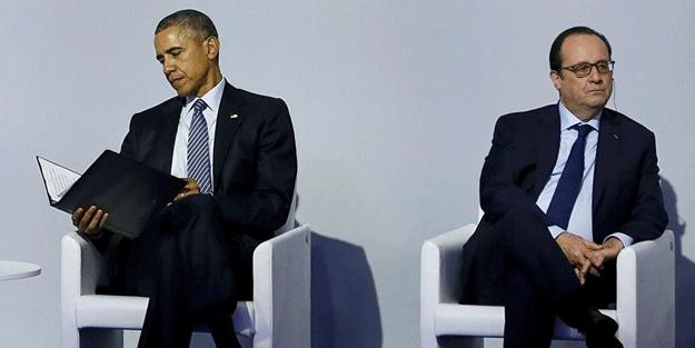 Hollande: Obama DAEŞ'i güçlendirdi