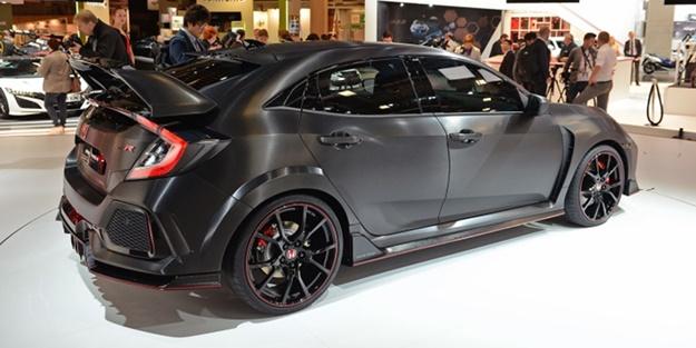 Honda'nın yeni canavarı: Civic Type R
