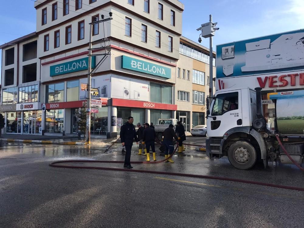 Horasan Belediyesi'nden bahar temizliği