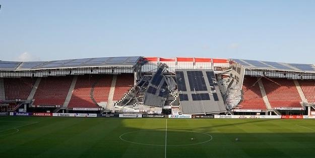 Hortum AZ Alkmaar'ın stadını yıktı geçti!