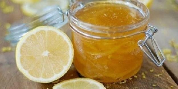 Hoş kokulu limon reçeli tarifi