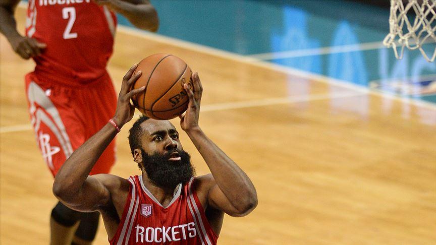 Houston Rockets Los Angeles Clippers'ı Harden'ın 47 sayısıyla devirdi