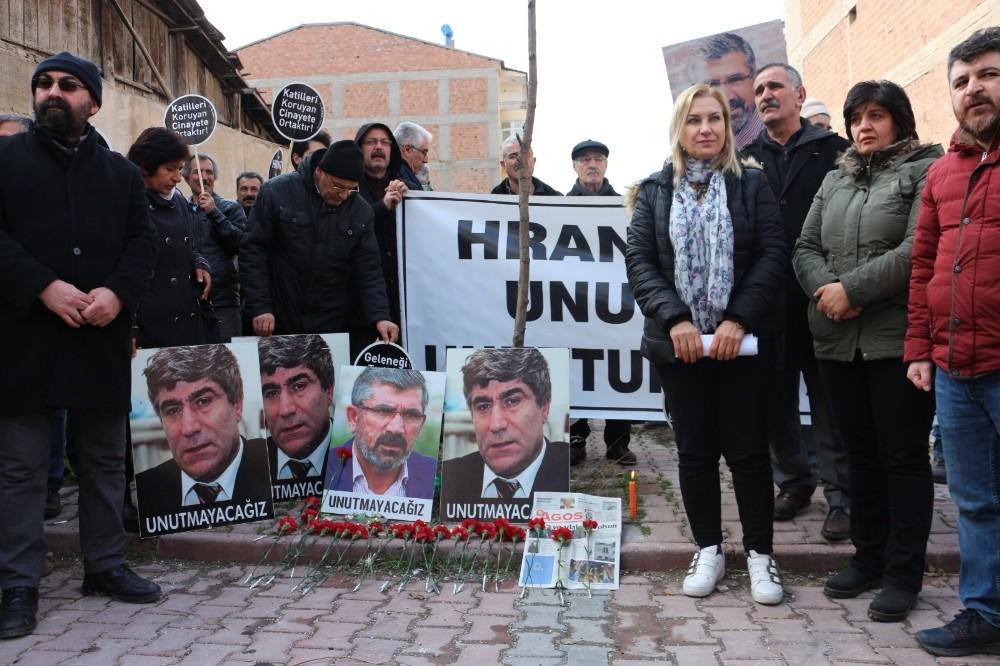 Hrant Dink memleketi Malatya'da anıldı