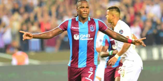 Hugo Rodallega, Trabzonspor'dan ayrılmak istediğini açıkladı
