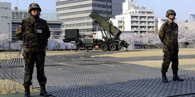 """Hükümetten Japon ordusuna """"hazır olun"""" talimatı"""