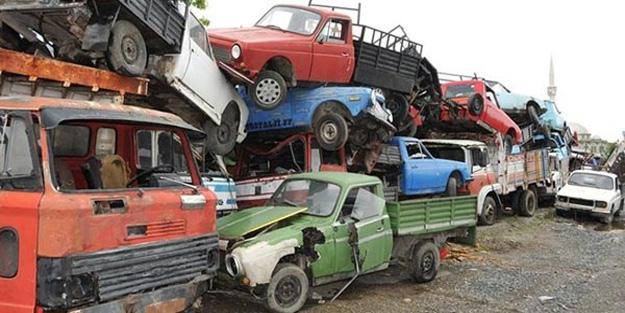 Hurda araçlar vatan savunmasında!