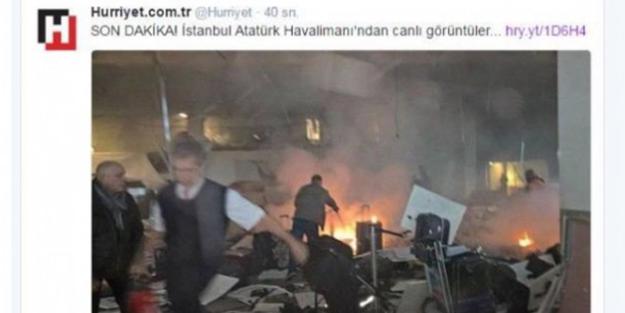 Hürriyet'ten patlama sonrası Brüksel fotoğrafı