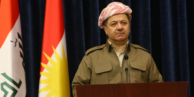 İbadi'den IKBY Başkanı Mesut Barzani'ye uyarı!