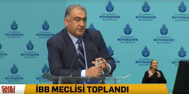 İBB Meclisi'nde CHP'linin 'Erdoğan' hakkındaki sözleri gerginlik çıkardı