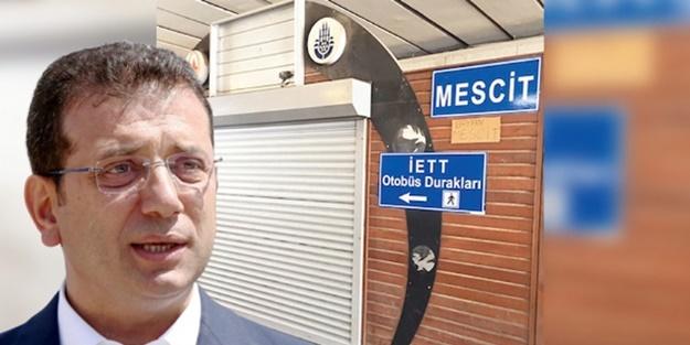 İBB'den 'Mescid' iddialarına açıklama