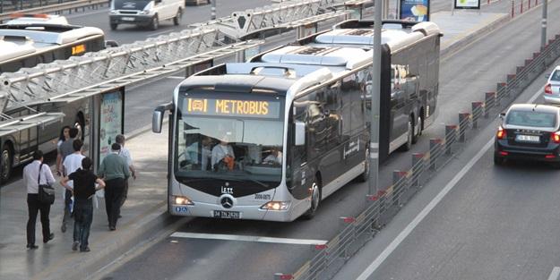 İBB'den metrobüs seferleriyle ilgili flaş açıklama