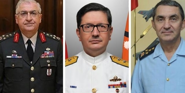 Cumhurbaşkanlığı açıkladı: 3 kuvvet komutanı değişti
