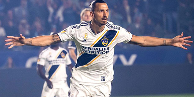 IBRAHİMOVİC'İN BİR YIL DAHA LOS ANGELES GALAXY'DE!