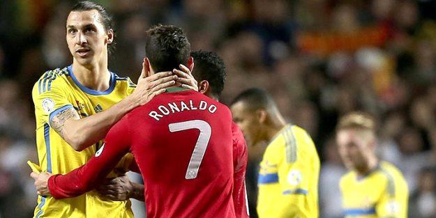 Ibrahimovic'ten Ronaldo'ya koronavirüs göndermesi