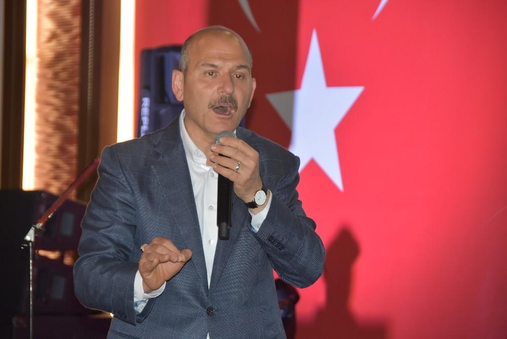 "İÇİŞLERİ BAKANI SOYLU: ""PKK İRTİBATI OLANLARI MECLİS ÜYESİ YAPTIRTMAYIZ"""